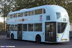 Wrightbus NRM NBFL - LTZ 1168 - LT168 - Swatch - Aldwych 9 - RATP Group London - London 2017 - Steven Gray - IMG_5467