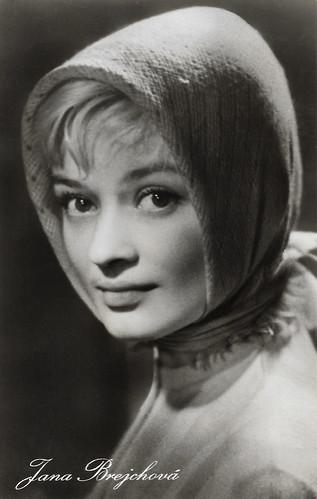 Jana Brejchová in Touha (1958)