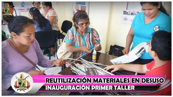 inauguracion-primer-taller-reutilizacion-materiales-en-desuso