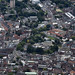 Aerial view of Norwich - Norfolk UK aerial view