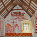 St Teilo's church - medieval wall paintings