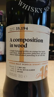 SMWS 35.194 - A composition in wood