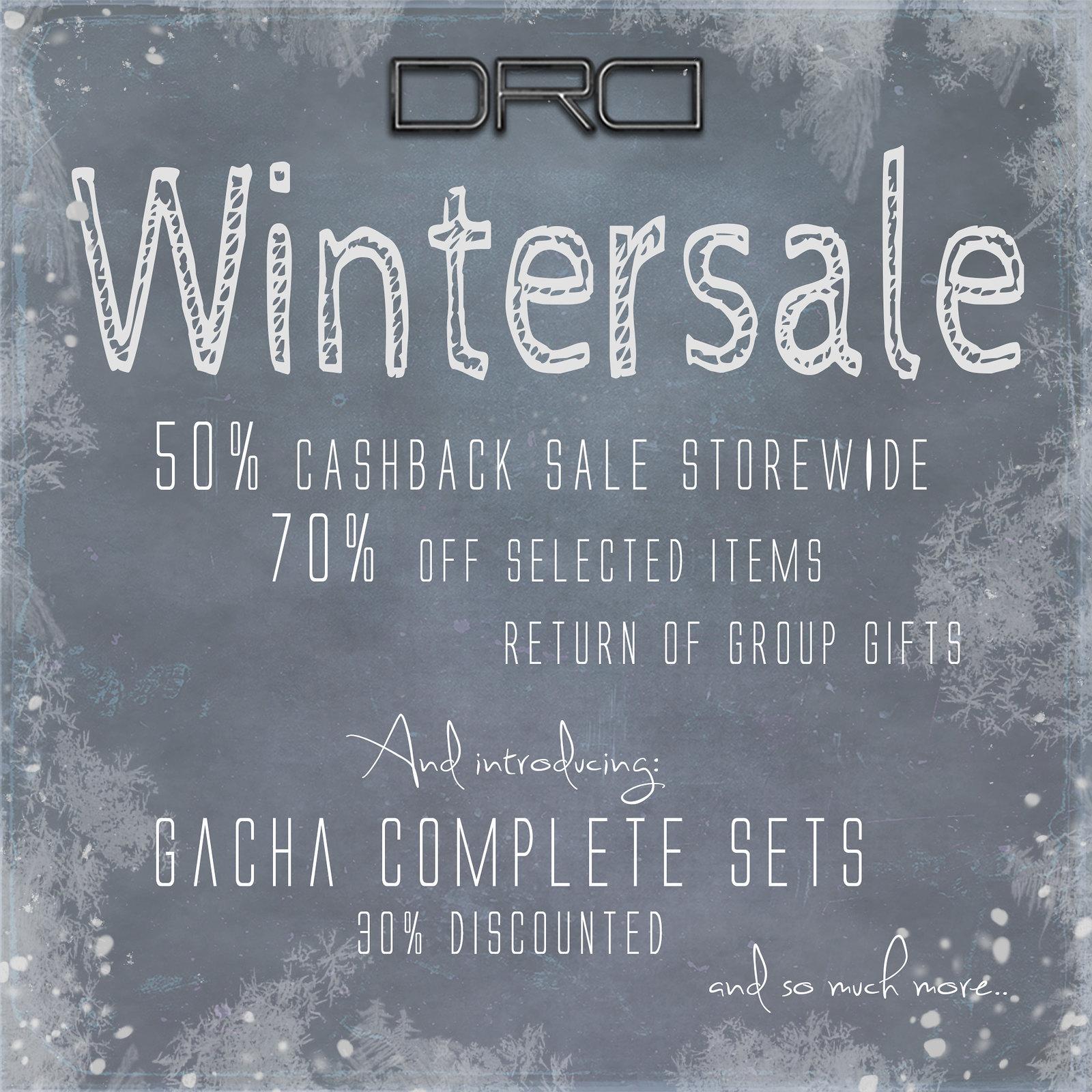 DRD wintersale !