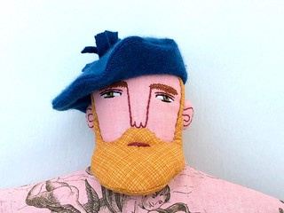 Blond Man in a Kilt