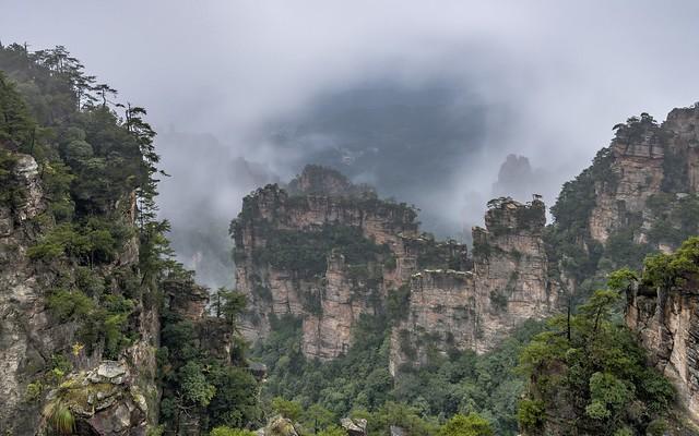 *Zhangjiajie National Park @ The Great Wall*