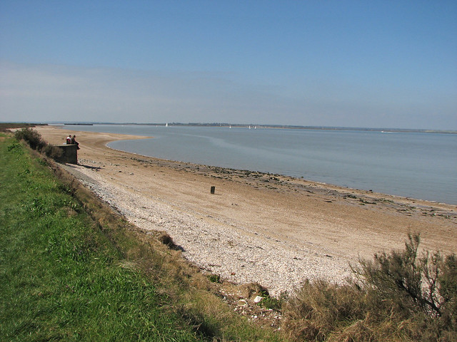 The coast near Bradwell