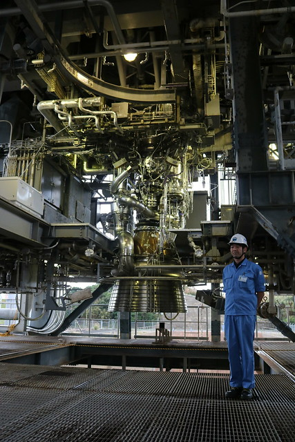 LE-9実機型エンジン#2報道公開