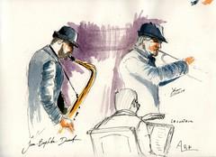 Jazz et Polar à la médiathéque de la Côte saint André (2) - Photo of Champier