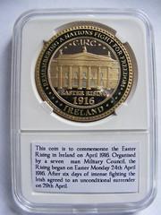 Commemorative Coin / Token - 100th Anniversary 1916 Easter Rising Ireland