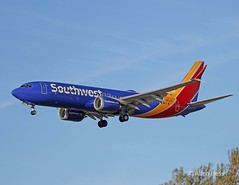 Southwest Airlines, Boeing 767 Max 8.....2017-1021-034