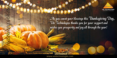 Vee Technologies Wishes you a Happy Thanksgiving!