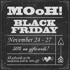 MOoH! Black friday sale