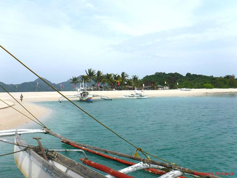 Motorized Bancas in Agho Island
