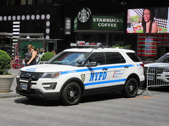 NYPD Ford Police Interceptor Utility