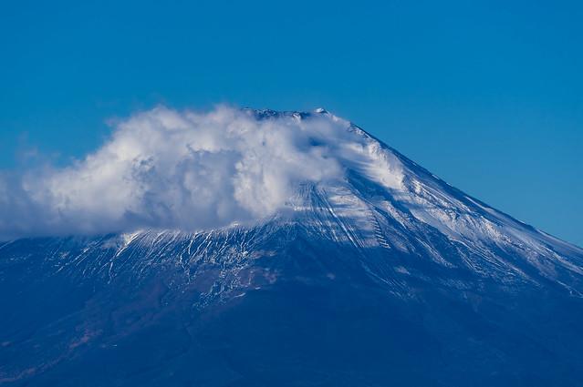 富士山をアップ@丹沢山