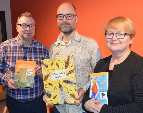 Mats Granberg, Thomas Håkansson och Barbara Gawryluk