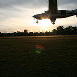 Sunset at Midwest Freefall Sport PArachute Club