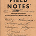 Field Notes: September to November 2017