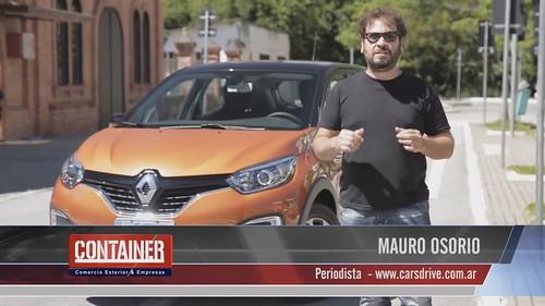 Renault Captur Container TV