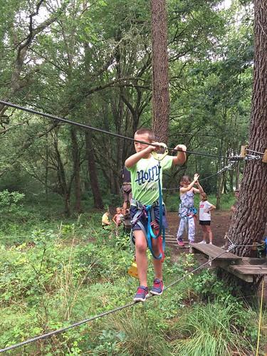 Juillet 2017 - Camp à Pissos