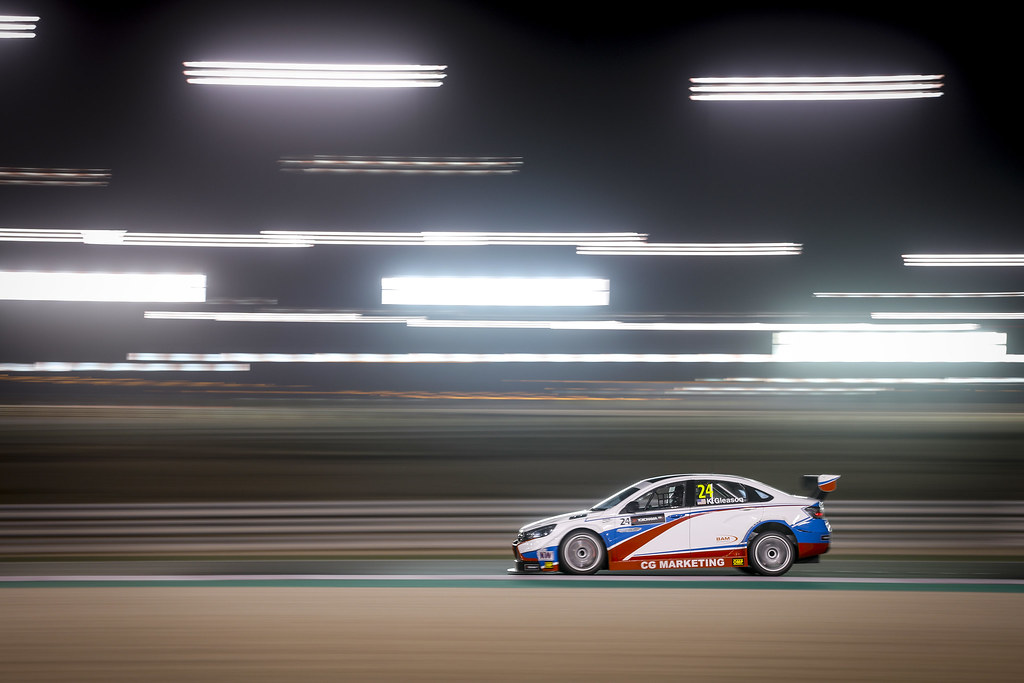 24 GLEASON Kevin, (usa), Lada Vesta team RC Motorsport, action during the 2017 FIA WTCC World Touring Car Championship race at Losail  from November 29 to december 01, Qatar - Photo Francois Flamand / DPPI