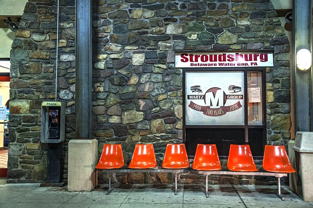 Bus station--Stroudsburg