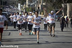 4th Palestine Marathon, Bethlehem, West Bank, 1.4.2016