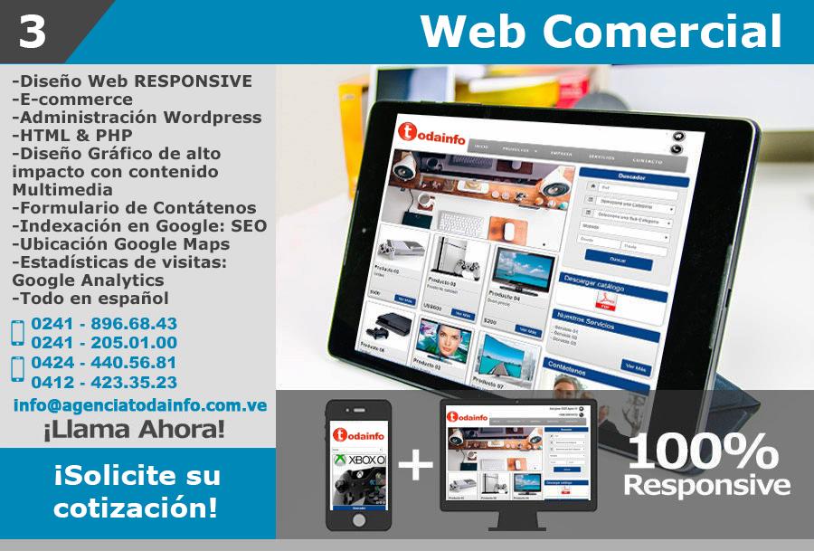 3 WEB COMERCIAL