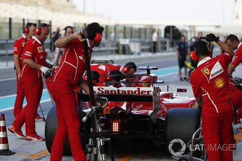 Kimi ja Ferrari