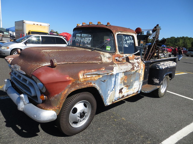 Rusted Tow Truck