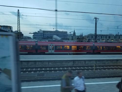 ミュンヘンの駅は路線が多い