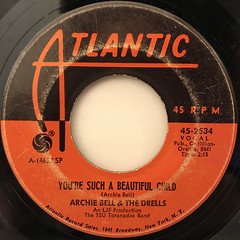 ARCHIE BELL & THE DRELLS:I CAN'T STOP DANCING(LABEL SIDE-B)
