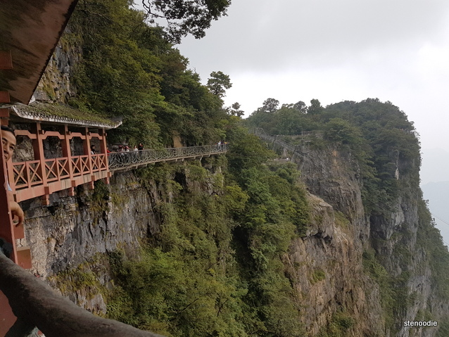 Tianmen Mountain path