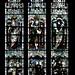 Church Eaton, Staffordshire, St. Editha, north aisle, east window, top, antecedents