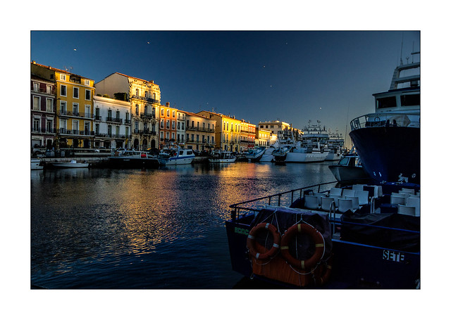 Dernières lumières sur Sète