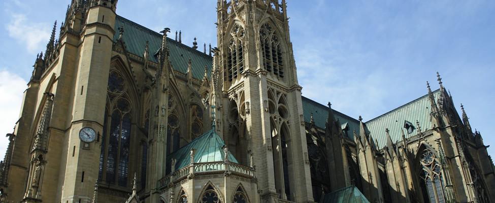 Stedentrip Metz, bezienswaardigheden Metz: kathedraal | Mooistestedentrips.nl