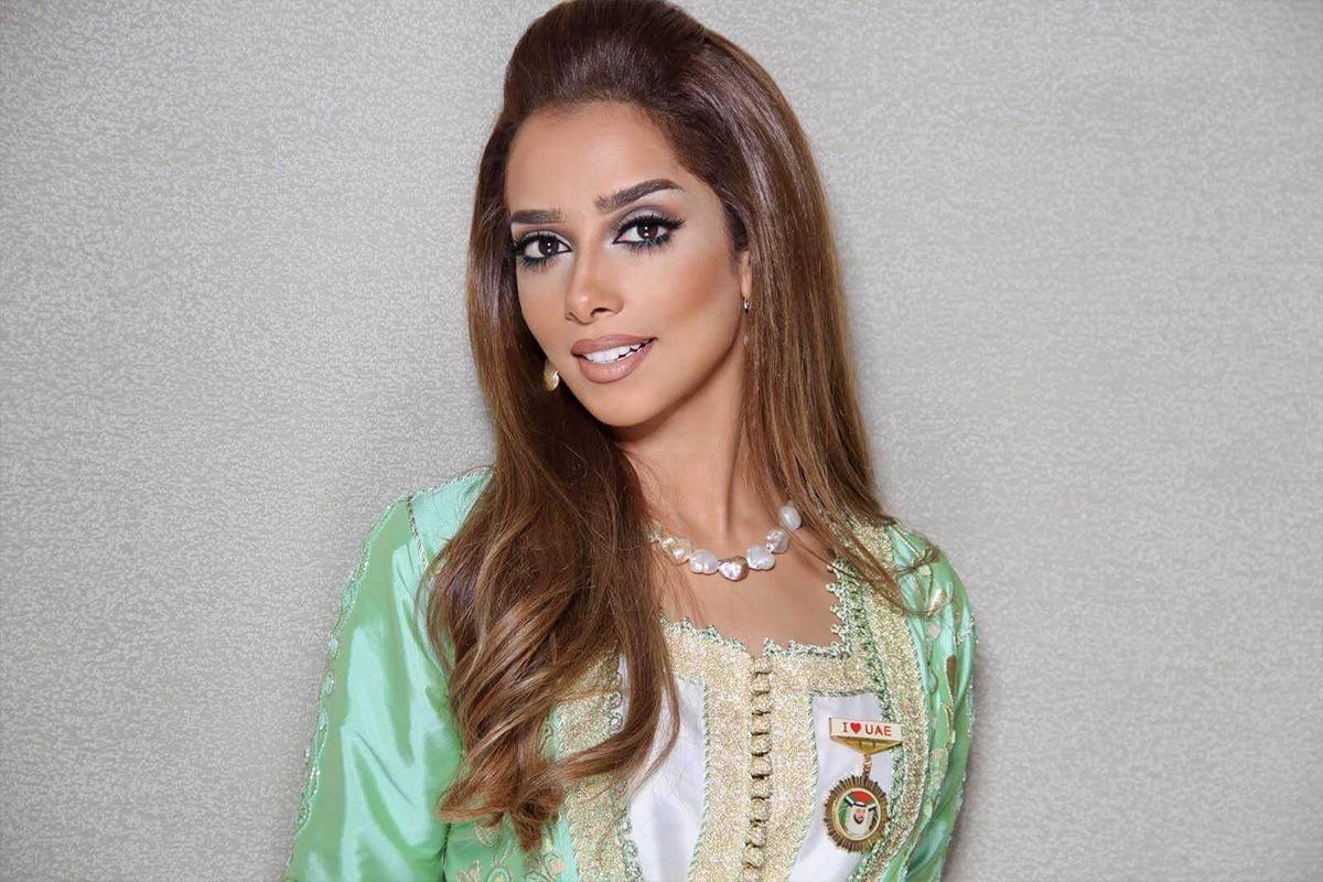 الفنانة الإماراتية بلقيس
