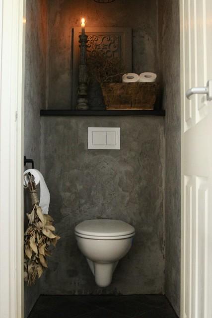 Toilet landelijk sober