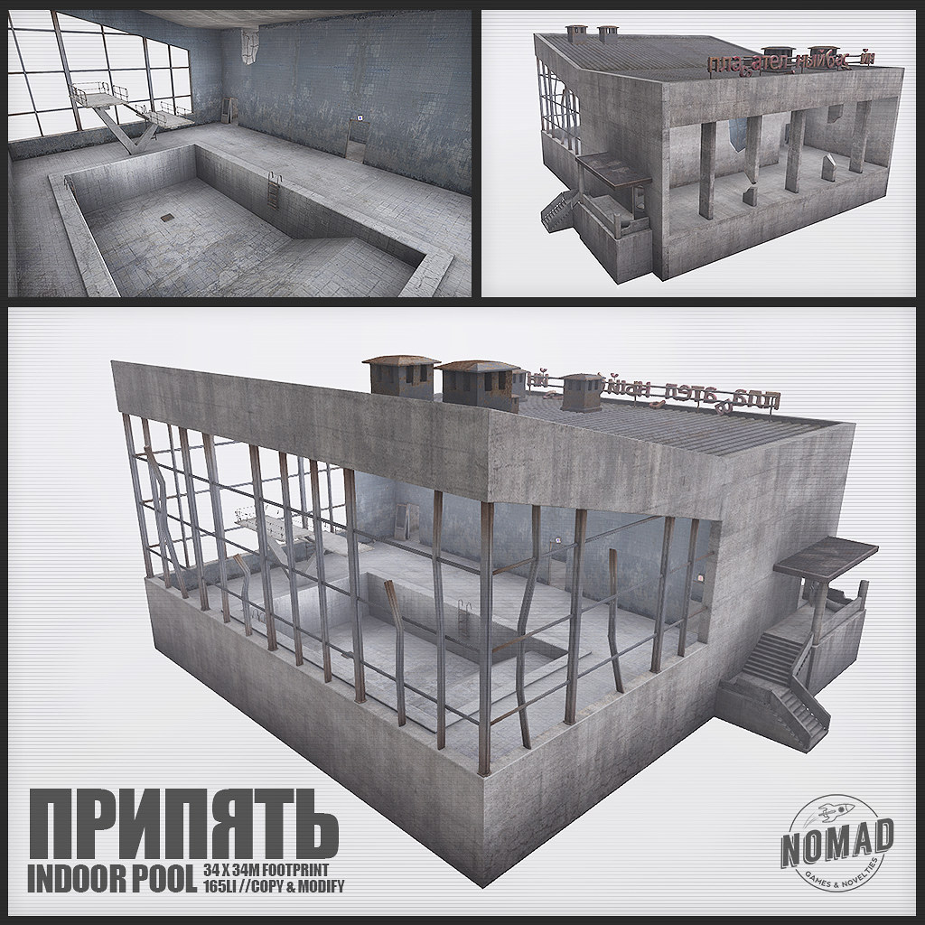 NOMAD // Pripyat Indoor Pool - TeleportHub.com Live!