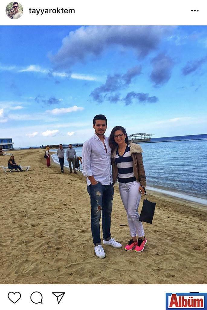 Tayyar Öktem, nişanlısı Demet Yaşın ile birlikte Kıbrıs'tan paylaştığı bu fotoğrafla takipçilerinin beğenisini topladı.