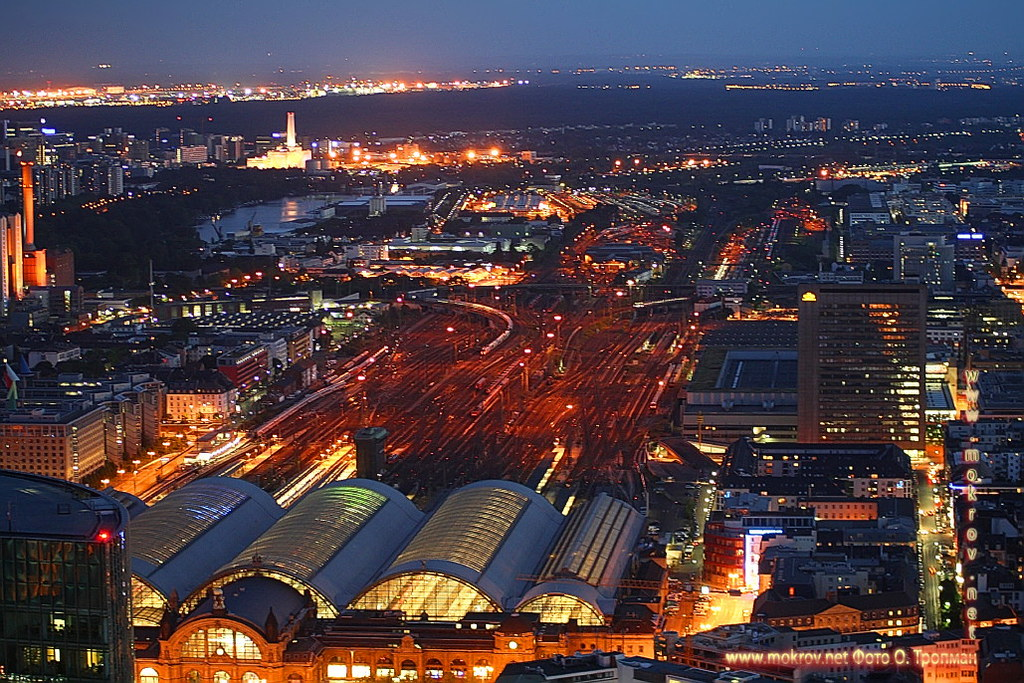 Германия - Города Франкфурт на Майне фото достопримечательностей