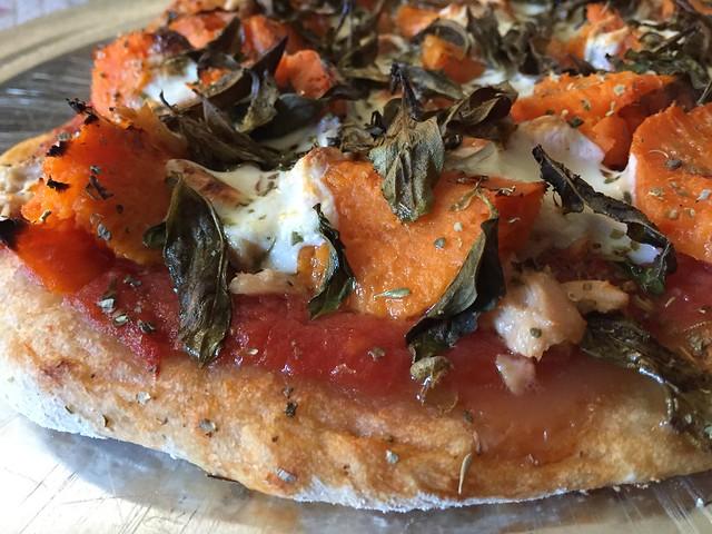 Covington Sweet Potato / Albacore tuna pizza