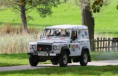 Wales Rally GB National - Army Landrover - Car 275