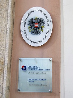 Austrian and Serb delegation offices - Trieste