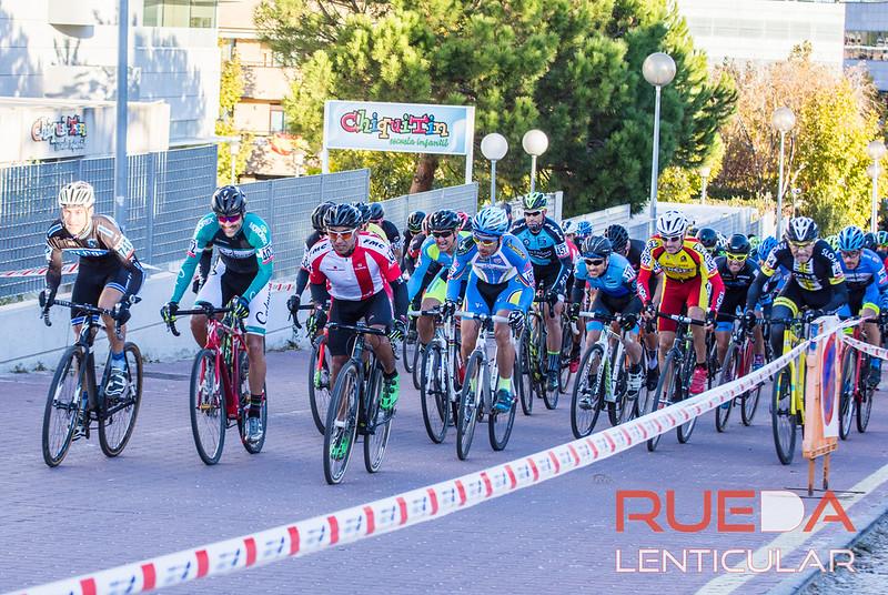 Fotos máster 40, 50 y 60 del ciclocross de Alcobendas 2017