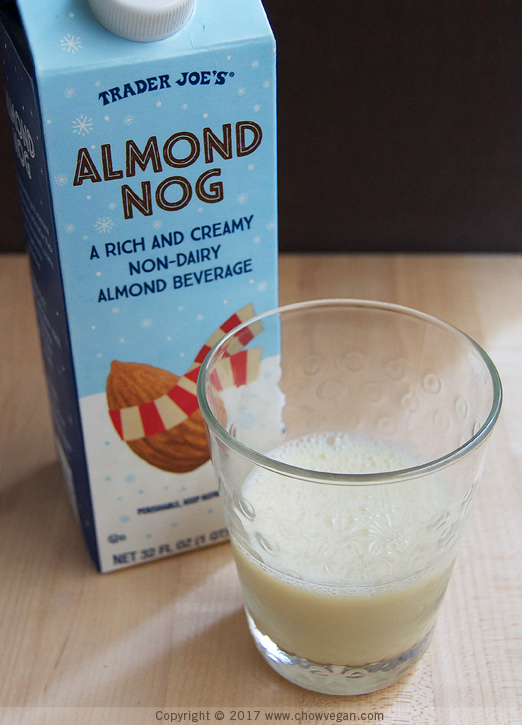 Trader Joe's Almond Nog | Chow Vegan