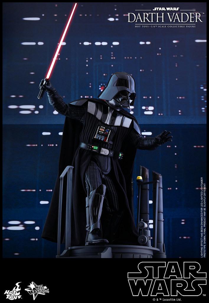 Hot Toys - MMS452 - 《星際大戰五部曲:帝國大反擊》1/6 比例 達斯‧維德 Star Wars: Episode V The Empire Strikes Back Darth Vader