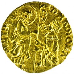 Ducat of Visconti Chios obverse