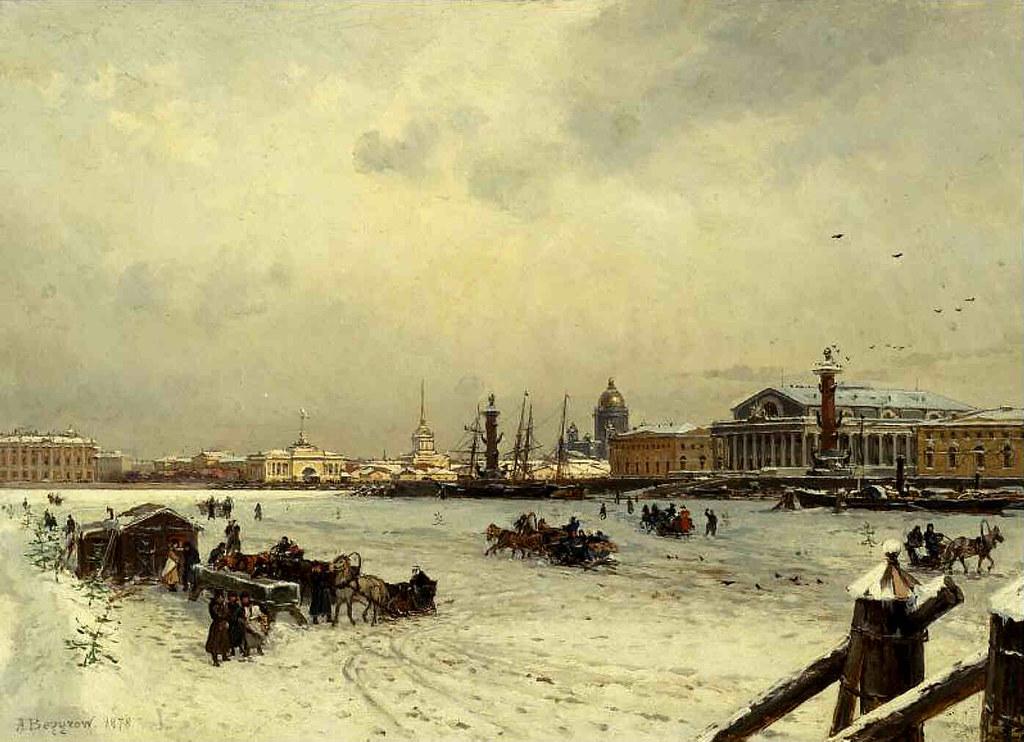 亚历山大·别格罗夫画作选18