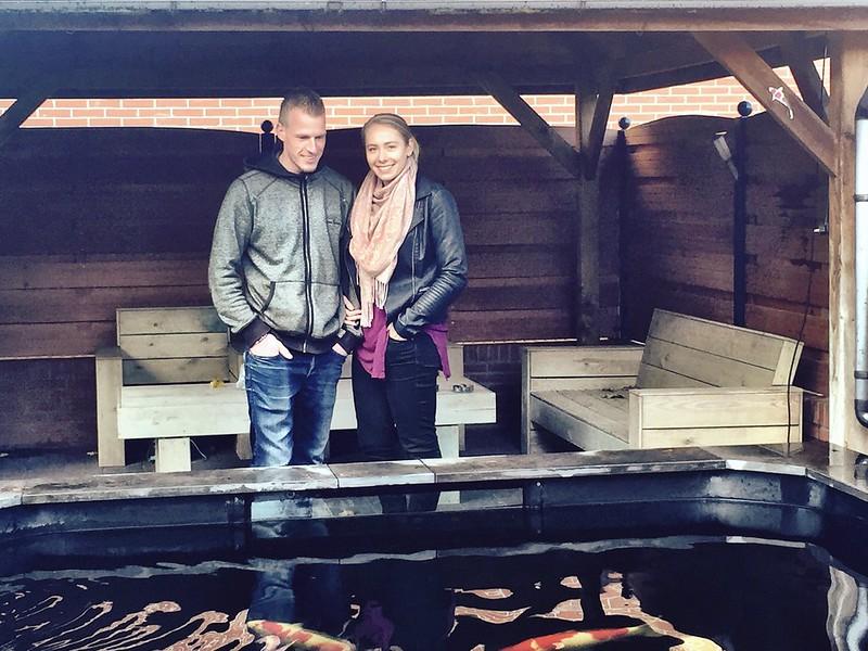 Op bezoek bij hobbyisten Kenny en Willemijn in Nieuw Amsterdam